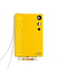 Camera Foto Instant si Imprimanta Polaroid Mint, cu Hartie Zink 2x3 inch, 16Mp, Galben